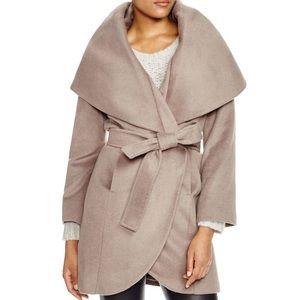 T. Tahari Marla wrap coat